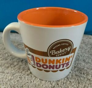 Dunkin-039-Donuts-White-Coffee-Mug-Bakery-Series