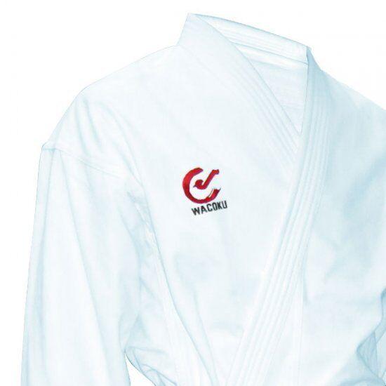 Wkf Approvato Karate Scattanti Effetto 284ml Gi 284ml Effetto Uniforme Ideale Kata Kumite Snap 70cf8b