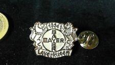 Bayer 04 Leverkusen Logo Pin Badge Retro Vintage Edelstahl plain