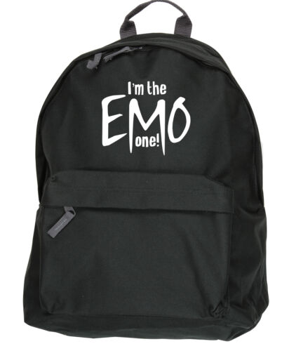 I/'m the Emo One 31x42x21cm backpack ruck sack Size