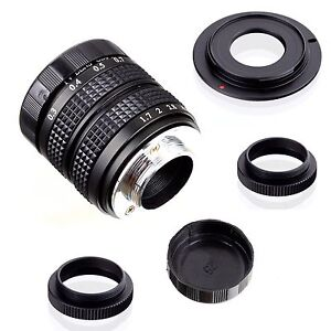 Fujian-35mm-f-1-7-CCTV-cine-lens-for-Sony-NEX-E-mount-camera-amp-Adapter-bundle