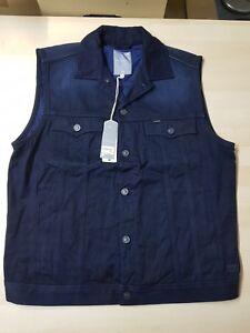 Jeans Gr Neu star Slim Weste Tailor G Original Wmn Vest Etikett Mit M fSgX8F