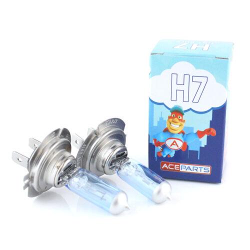 Smart Fortwo 55w Tint Xenon HID High Main Beam Headlight Bulbs Pair