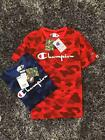 NEW HOT Bape Cooperation Version A Bathing Ape Camo Crewneck T-shirt