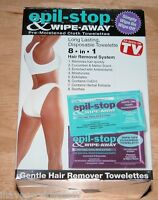 As Seen On Tv Epil-stop & Wipe Away Hair Remover