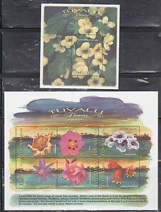Tuvalu-810-12-Flowers-Mint-NH