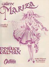 Emmerich Kalman - Gräfin Mariza, Potpourri für Akkordeon, Festpreis