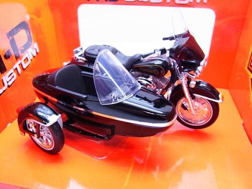 S252 maisto Harley-Davidson 1998 flht Electra Glide motocicleta m sidecar 1:18 nuevo