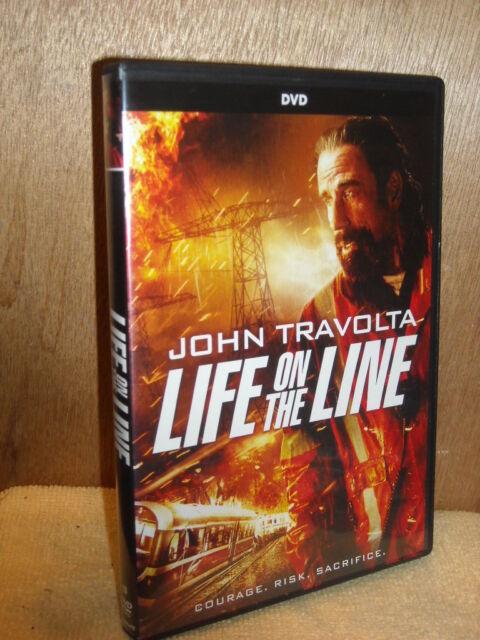 Life on The Line (dvd 2017) John Travolta Kate Bosworth Devon Sawa