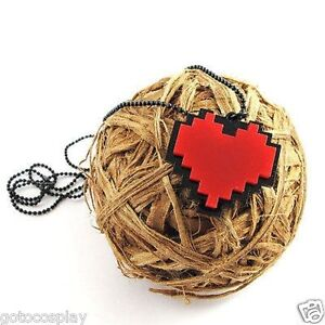 Anime-Undertale-Frisk-Chara-Heart-Necklace-Metal-Pendant-Jewelry-Gift