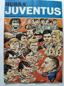 HURRA' JUVENTUS N. 12 DICEMBRE 1971 + POSTER ROVETA VYCPALEK COPPA UEFA RAPID