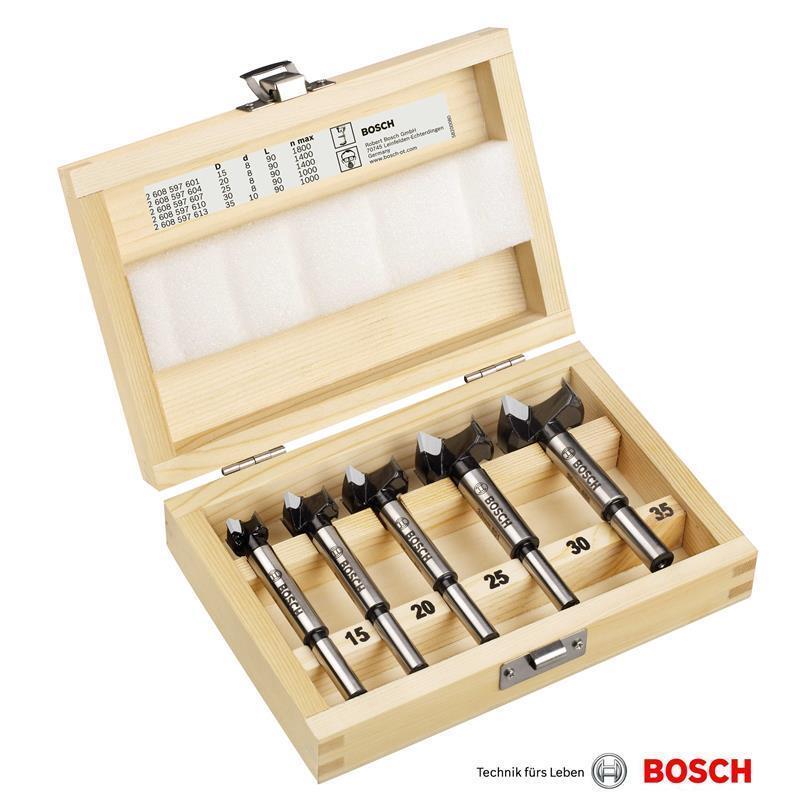 Bosch Kunstbohrer Set 5-tlg Hartmetall-Beste. 2607018750