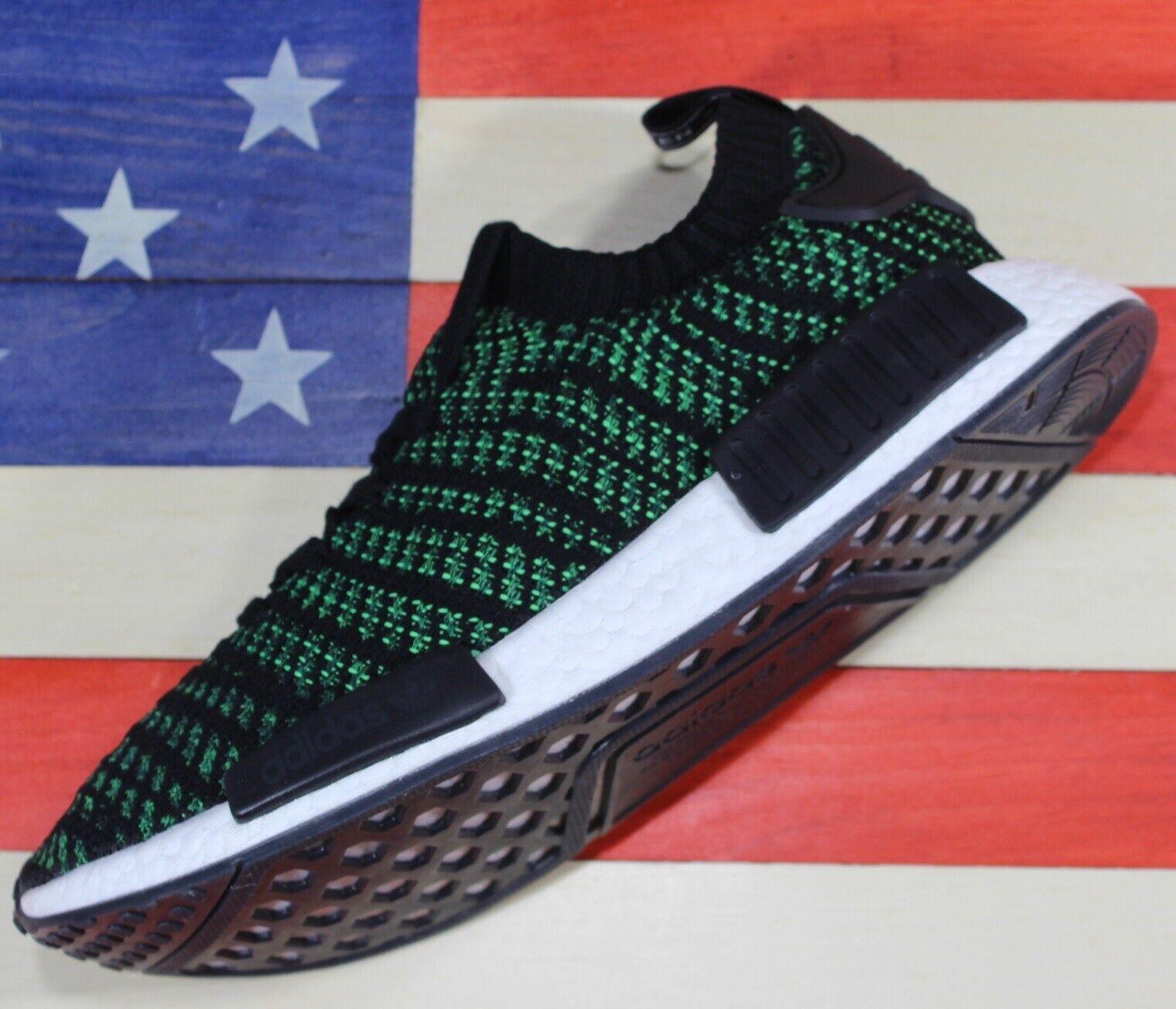 Adidas Originals NMD R1 Boost Men's Training shoes Night-Cargo Green Cargo AQ0936