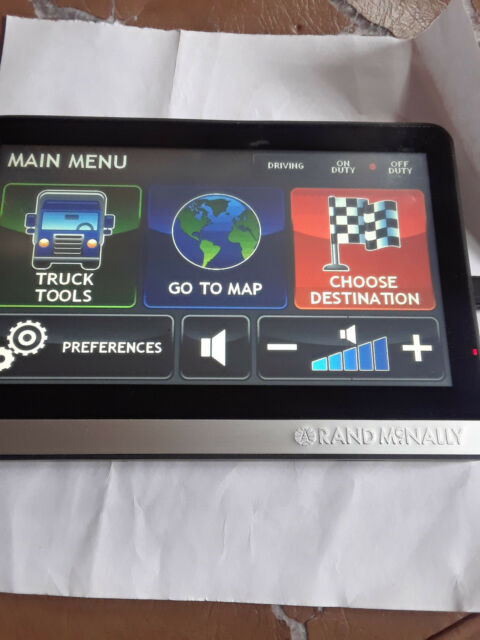 Rand Mcnally Gps >> Rand Mcnally Intelliroute Tnd 510 Truck Gps For Sale Online Ebay