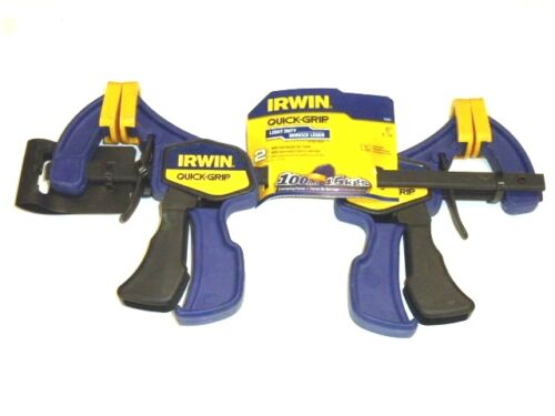 "2-Pack IRWIN QUICK-GRIP 6/"" BAR CLAMP SET 5462 NEW"