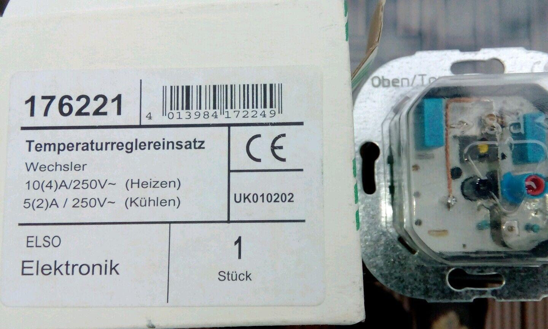 NEU ELSO Temperatur-Regler Wechsler 176221 | Creative