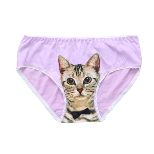 Novelty 3D Cat Women/'s Briefs Panties Knickers Lingerie Underpants Underwear New