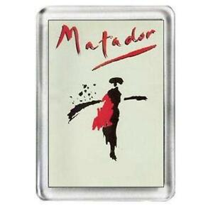Matador The Musical Fridge Magnet - <span itemprop=availableAtOrFrom>kettering, Northamptonshire, United Kingdom</span> - In the case of faulty goods, please return to seller for replacement or full refund. Most purchases from business sellers are protected by the Consumer Contract Regula - kettering, Northamptonshire, United Kingdom