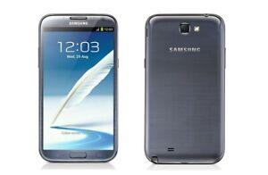 Samsung-Galaxy-Note-2-in-Grau-Handy-Dummy-Attrappe-Requisit-Deko-Werbung