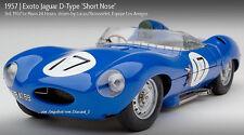 EXOTO 1:18 Jaguar D-Type (1955)# 17 Lucas/Brousselet LE MANS Ltd.Ed.RLG