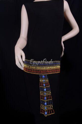 Large Egyptian Cleopatra Beaded Belt Set Costume EXPRESS SHIPPING