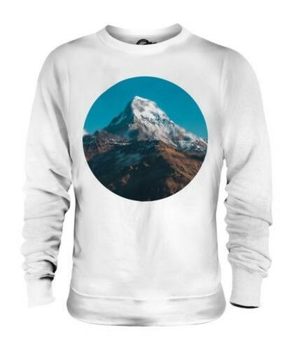 HIMALAYA MOUNTAIN UNISEX SWEATER TOP GIFT NATURE blueR