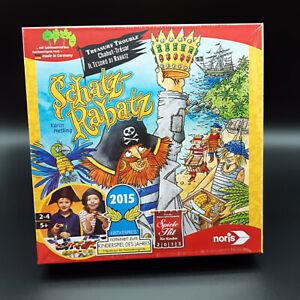 Noris-Schatz-Rabatz-Spiel-Gesellschaftsspiel-NEU-amp-OVP
