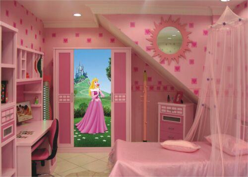 Enfants/'S Chambre à Coucher Mural Papier Peint Disney 202x90cm Princesse Aurora decor