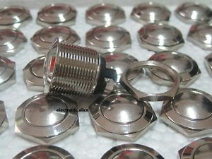 What Is Stainless Steel Made Of >> 19mm Normally Open Momentary Stainless Steel Metal Push Button