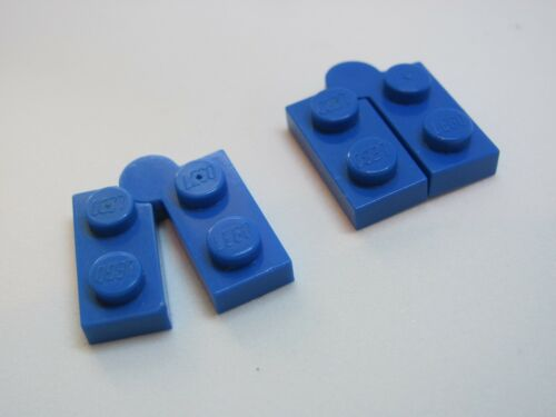 LEGO 2429c01 @@ Hinge 1 x 4 Vollständiges Assembly x2 Blau 3182 6986 7317
