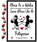 Valentines DISNEY Gifts PERSONALISED for Him Her Couples Anniversary Present ❤️
