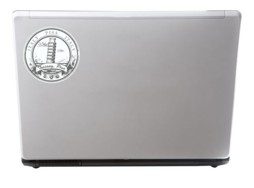2 x 10cm Pisa Italy Tuscany Vinyl Sticker Travel Luggage Laptop Italian #6581