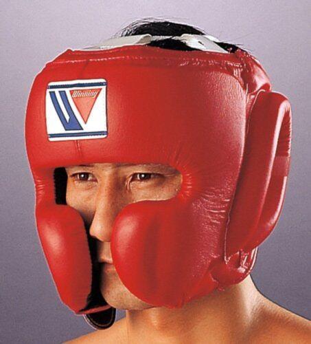 Winning Boxing Headgear FG-2900 Size L Face Guard Type Black Japan Fast Shipping