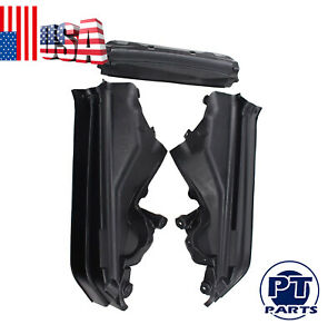 3pcs Engine Upper Compartment Partition Panel Set for BMW X5 X6 E70 51717169420