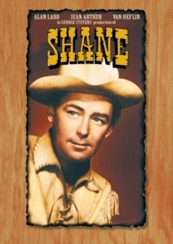 Shane (1953 Alan Ladd) DVD NEW