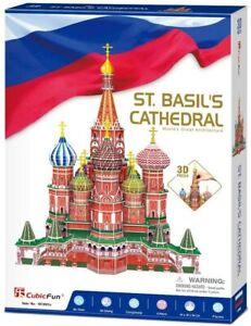 PUZZLE-3D-CATTEDRALE-DI-SAN-BASILIO-ST-BASIL-039-S-CATHEDRAL-NUOVO-IDEA-REGALO