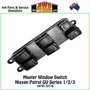 Window-Electric-Power-Master-Switch-Control-fit-Nissan-Patrol-GU-Series-1-2-3