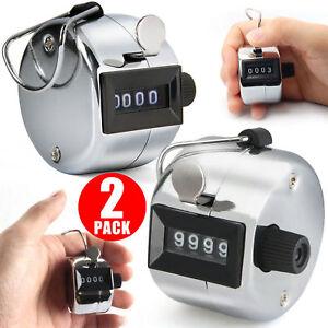 Golf-Stroke-Counter-4-Digit-Manual-Handheld-Tally-Mechanical-Clicker-2-Pcs-US