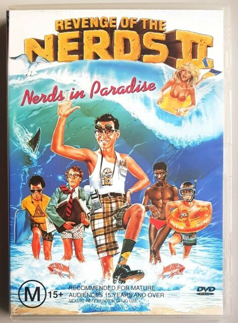 Revenge Of The Nerds II: Nerds In Paradise (Robert Carradine) DVD (Region 4)