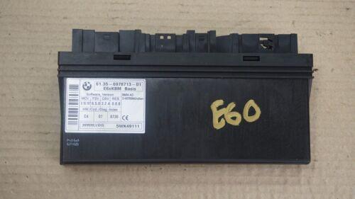 BMW 5 6 Series E60 E63 E64 Body Control Module ECU Control Unit 6978713