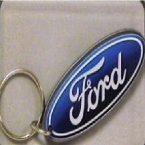Ford Oval Acrylic Key Chain - Makes a GREAT GIFT! Plus Get FREE USA Shipping!