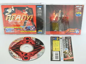 The-King-of-Fighters-96-GOOD-Condition-NEO-GEO-CD-Neogeo-SNK-Japan-nc
