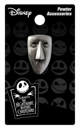 Shock Mask Pewter Lapel Licensed 26524 Pin Nightmare Before Christmas