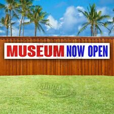 Museum Now Open Advertising Vinyl Banner Flag Sign Large Huge Xxl Size