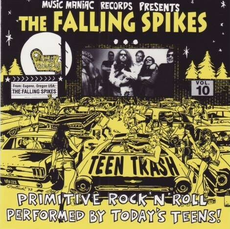 The Falling Spikes - Teen trash Vol.10 (CD)