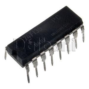 74F139PC-Original-New-Fairchild-Fast-Series-Decoder-Driver-IC-DIP16-16-Pin