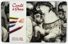 Conte un París Pastel Lápices - 24 Color Tin