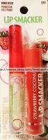 Lip Smacker Strawberry Coconut 2pc Balm+liquid Gloss Set/lot Dynamic Duo Collect