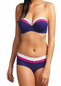 Taglie set w revival bikini U ~ Bandeau indigo Varie Freya Brief Bandeau P'd Reggiseno xOaRvwwq