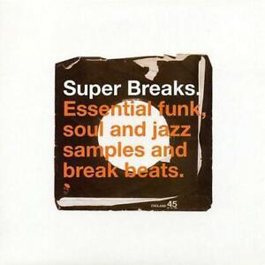 Super-Breaks-Volume-1-NEU-amp-VERSIEGELT-Jazz-funk-soul-Break-Beats-2x-LP-Vinyl-BGP